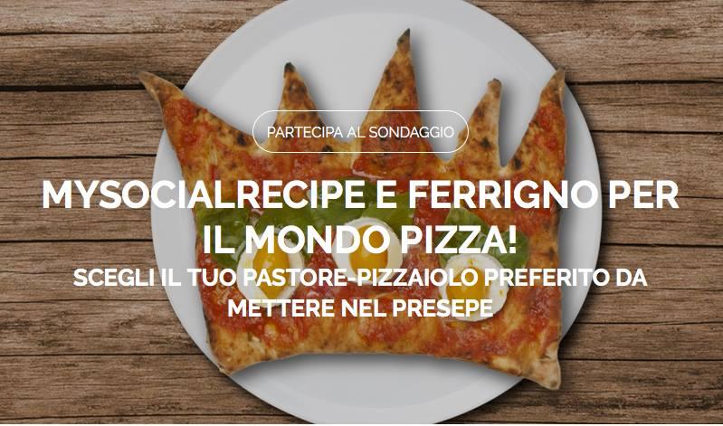 Sondaggio Pizzaiolo Mysocialrecipe