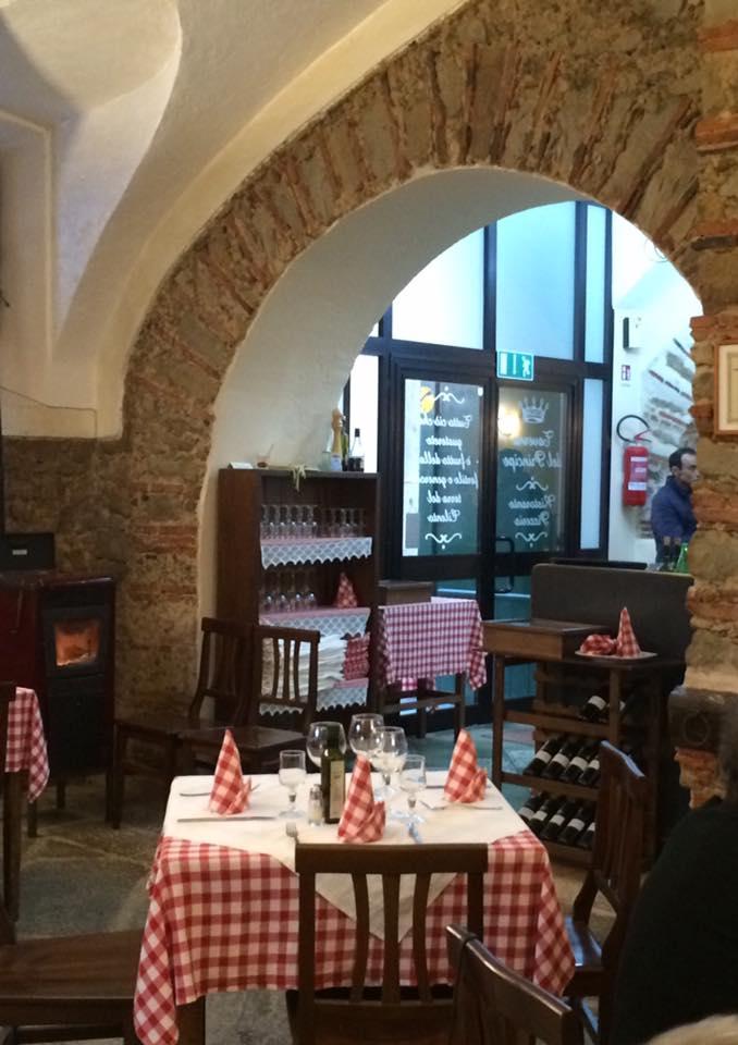 Taverna del Principe, la sala