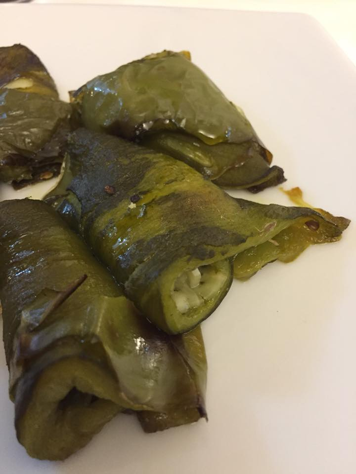 Taverna del Principe, peperoni verdi imbottiti