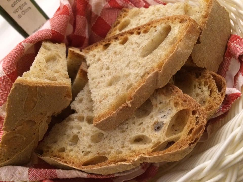 Taverna del Principe,pane cilentano