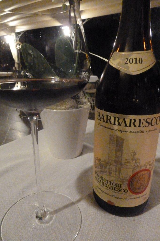 Trattoria Visconti, Barbaresco 2010, con Bitto stagionato e parmigiano sessanta mesi