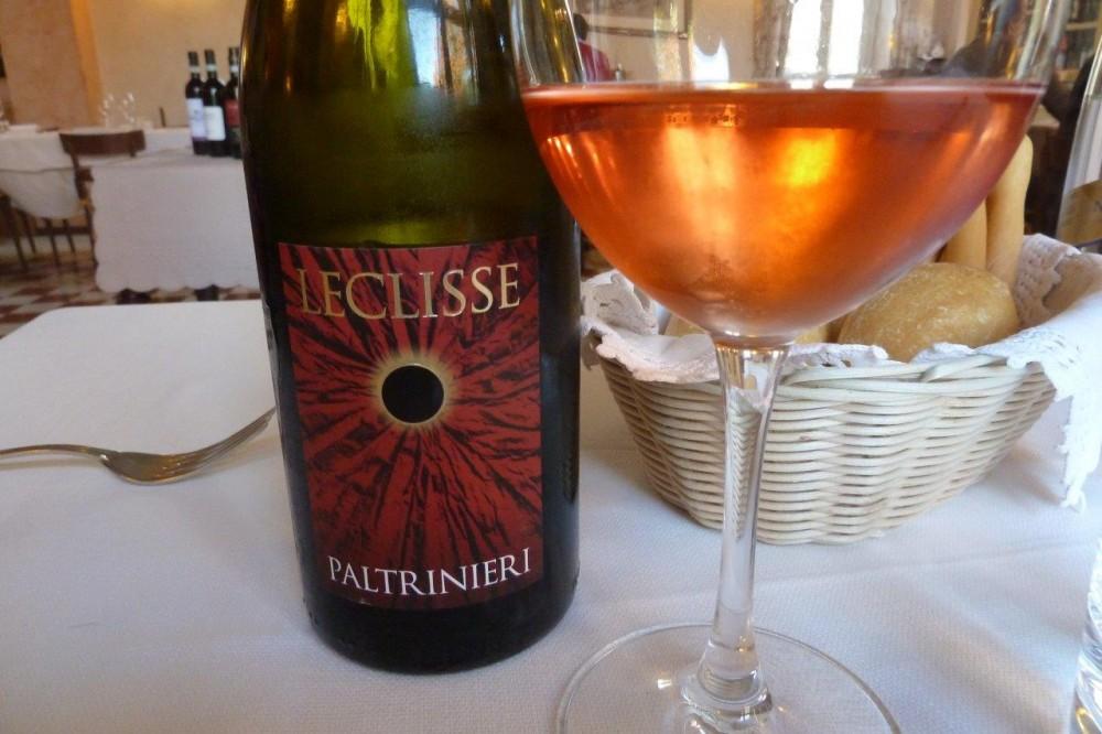 Trattoria Visconti, il vino di Paltrinieri