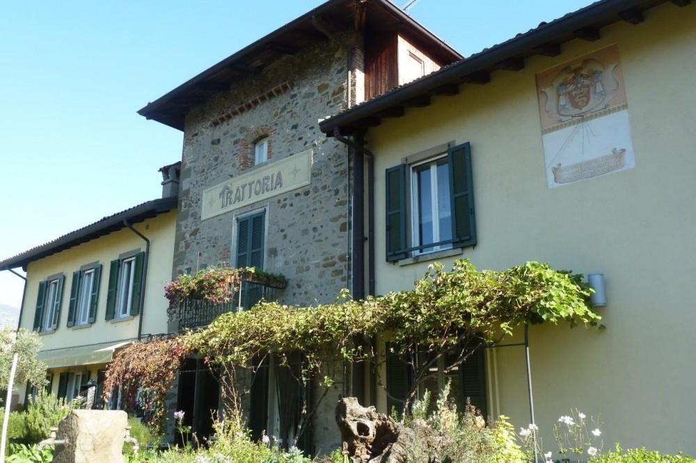 Trattoria Visconti, la facciata