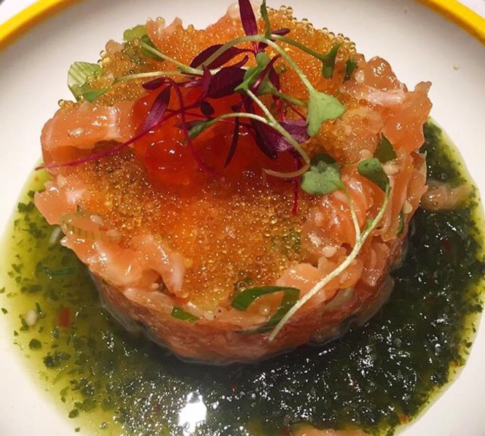 Yo Sushi, tartare di salmone