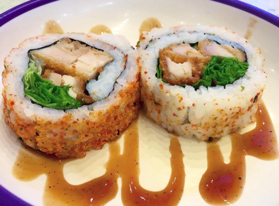 Yo Sushi, chicken katsu roll