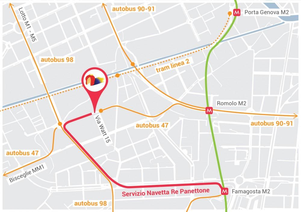 mappa mezzi pubblici