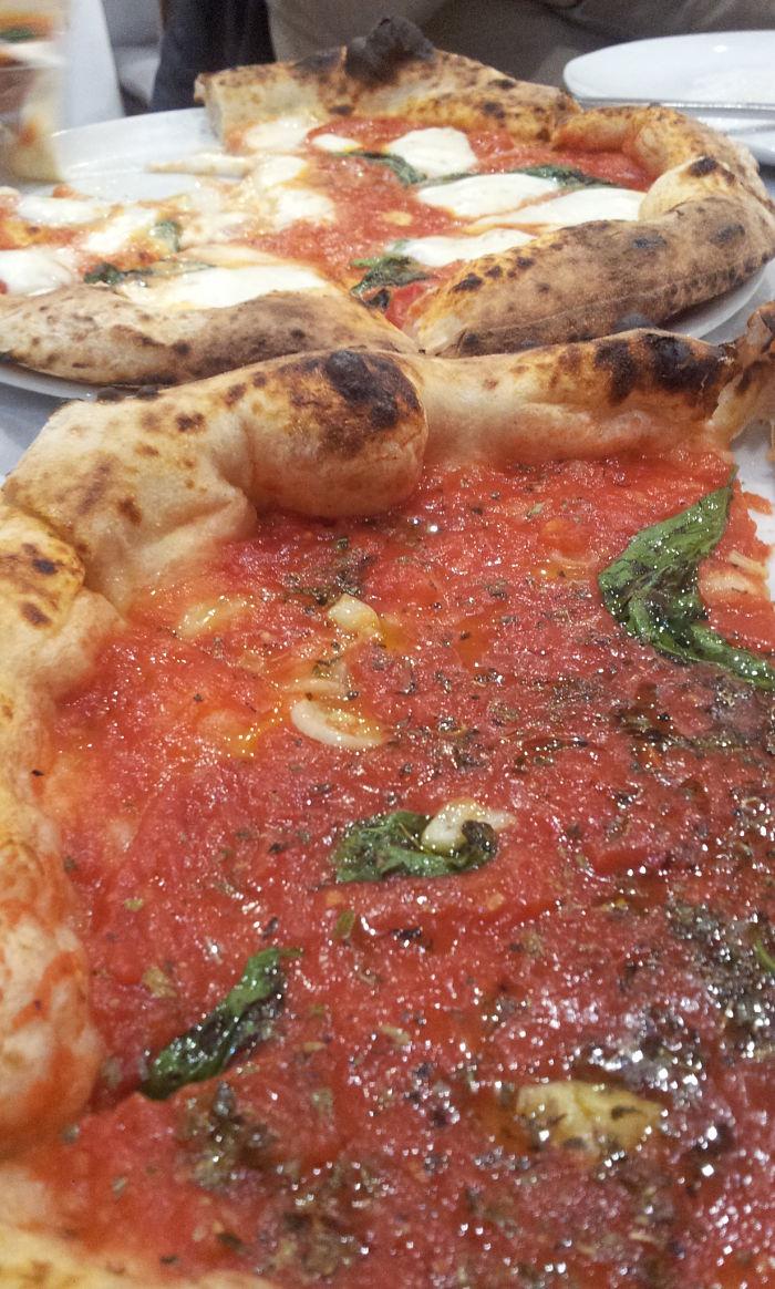 Marco Manzi, pizzeria Giotto Firenze, Pizza