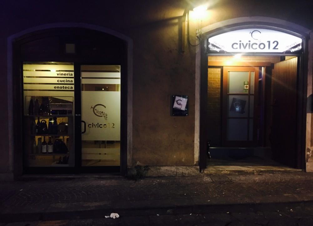 Civico 12, esterno
