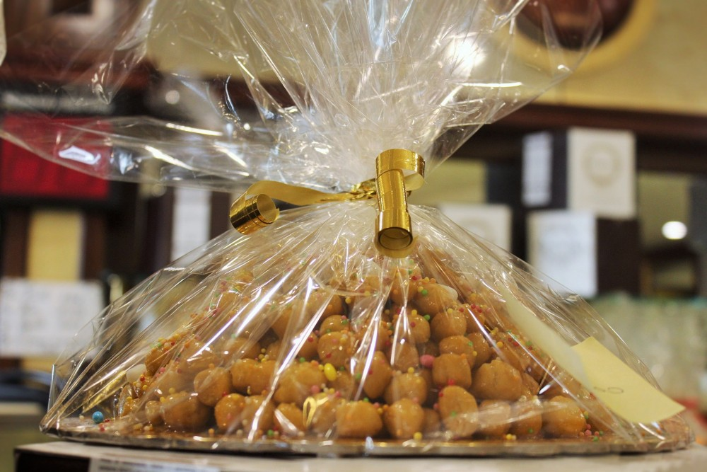 Struffoli in bella vista