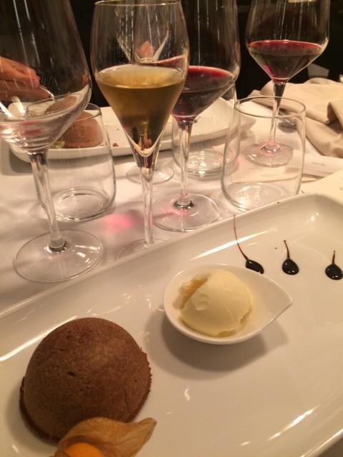 Il Falchetto, Il dessert alle castagne