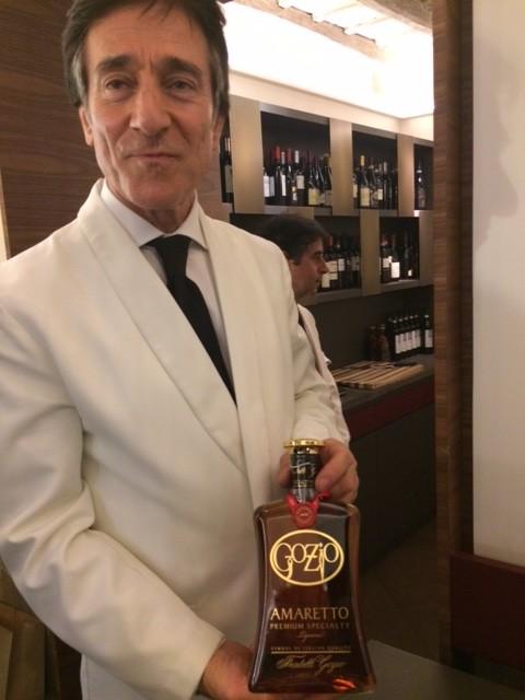Il Falchetto, I distillati offerti, come fine pasto,con grande eleganza dal personale di sala