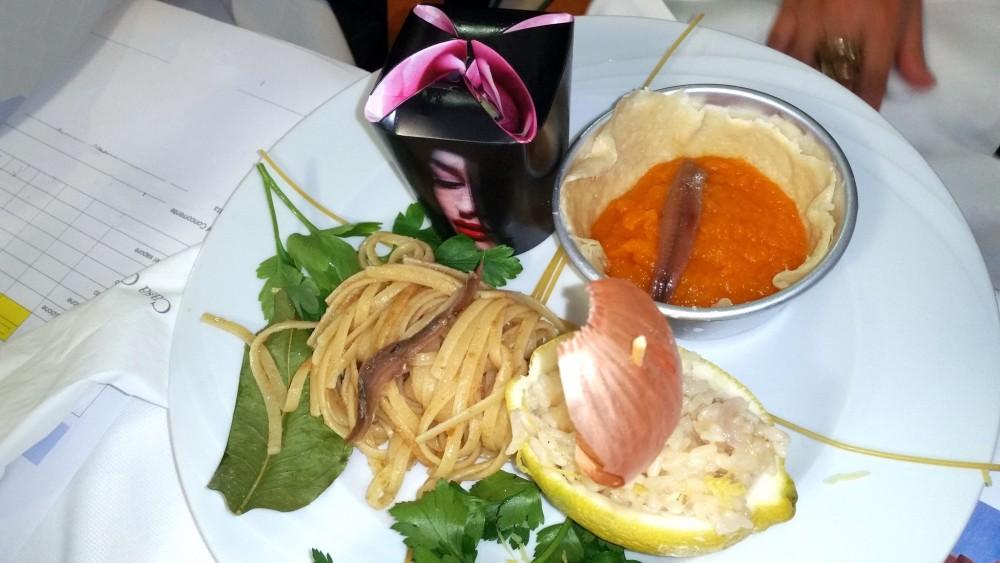 Il piatto di Segio Galzigna