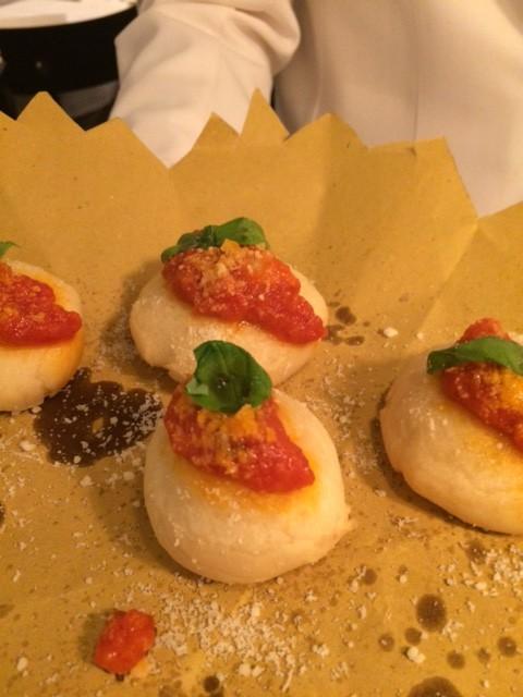 Il Falchetto, La pasta cresciuta al pomodoro e basilico
