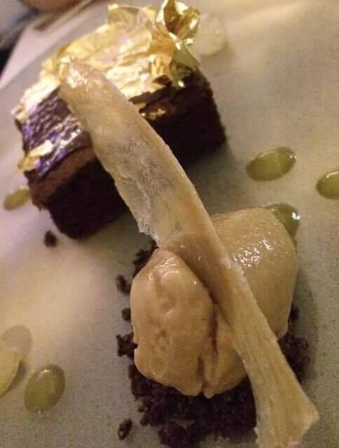 Imago, dessert al cioccolato