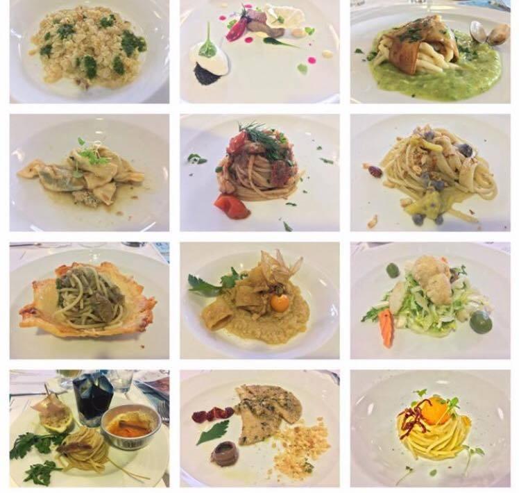 I piatti proposti dai concorrenti