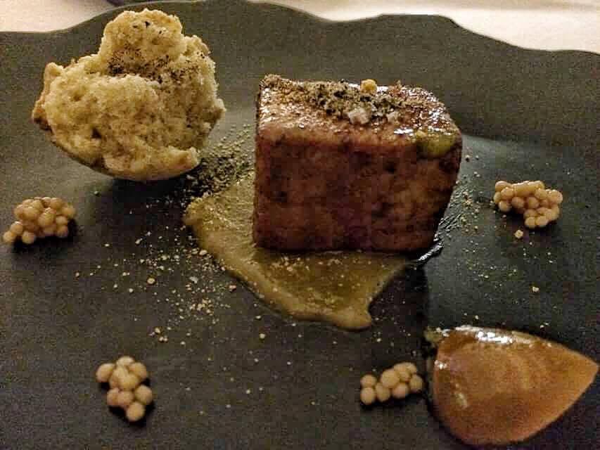 Imago, sgombro e foie gras