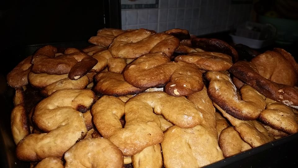 Preparazione dei Susamielli, I dolci appena sfornati