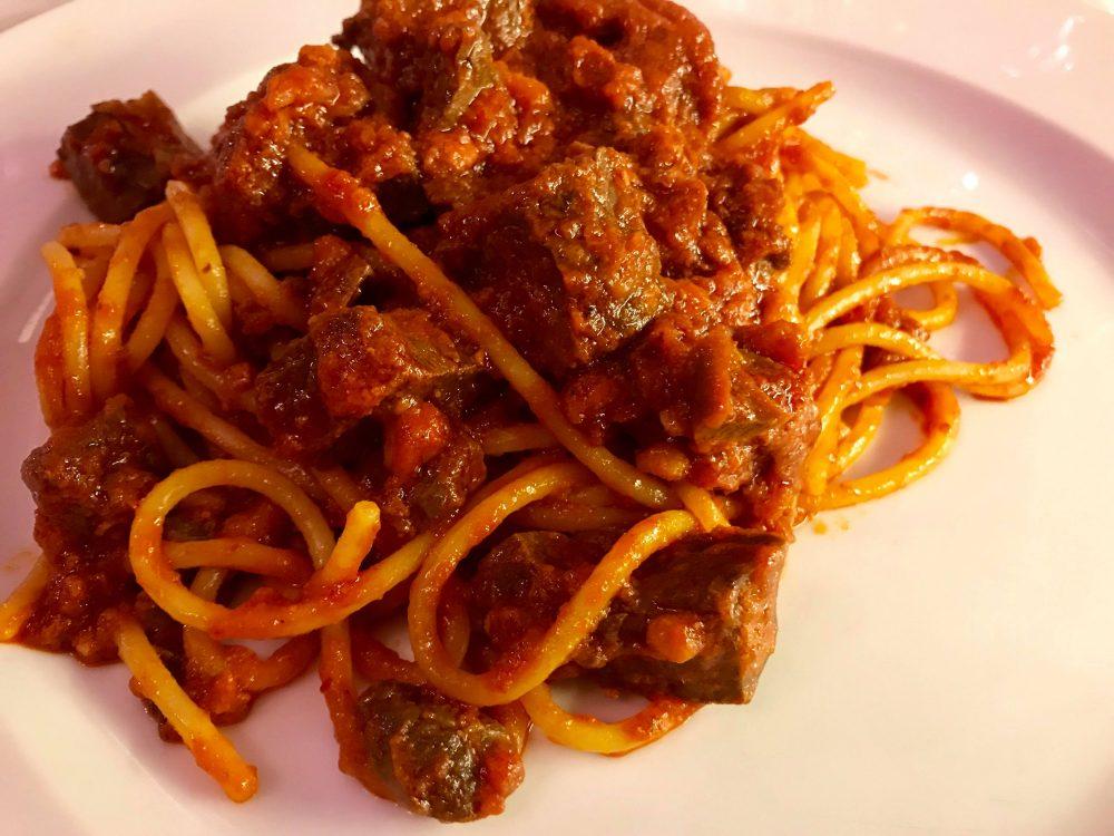 'A taverna d''O Re - spaghetti con il soffritto