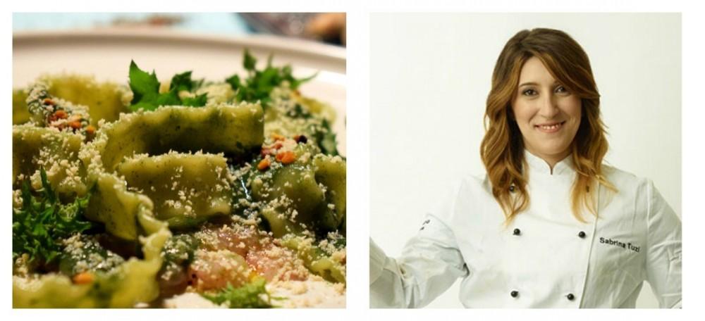 Anice verde di Castignano per il piatto di Sabrina Tuzi