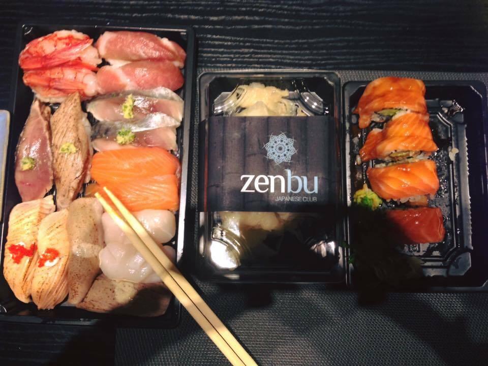 Capodanno fusion,  Zenbu Sushi Set Box Di Capodanno