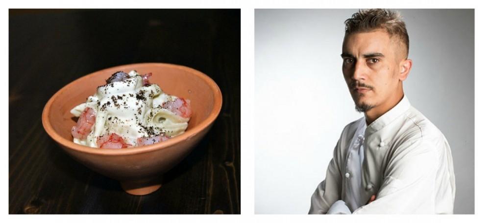 Carciofino violetto di Castellammare per il piatto di Giovanni Sorrentino