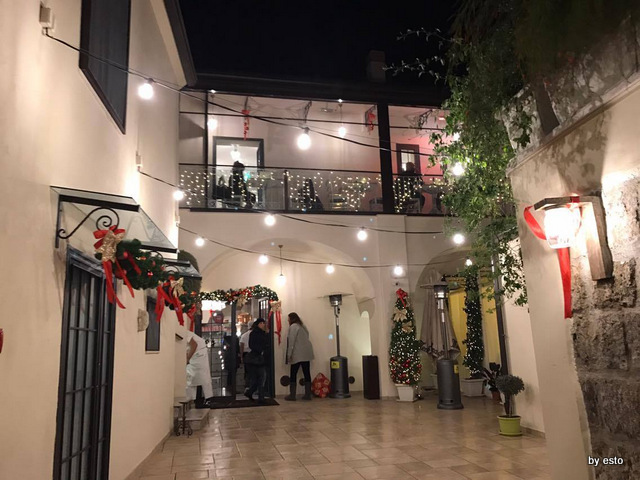 Casa Vitiello Tuoro di Caserta atrio ingresso