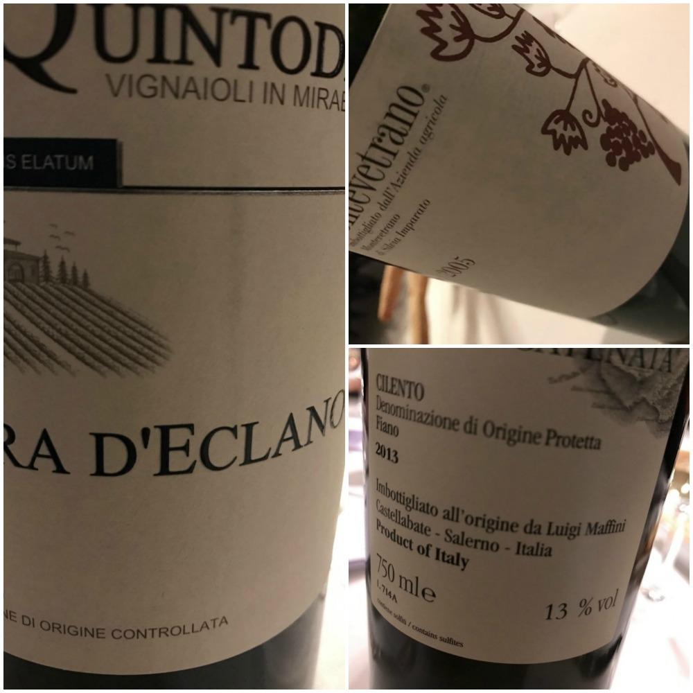 Cena delle stelle al Santobono, vini