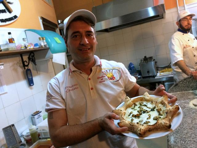 Checco Pizza Lecce. Francesco  Cassiano Pizza carnevale