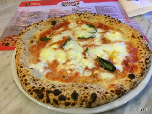 Checco Pizza Lecce. La pizza margherita