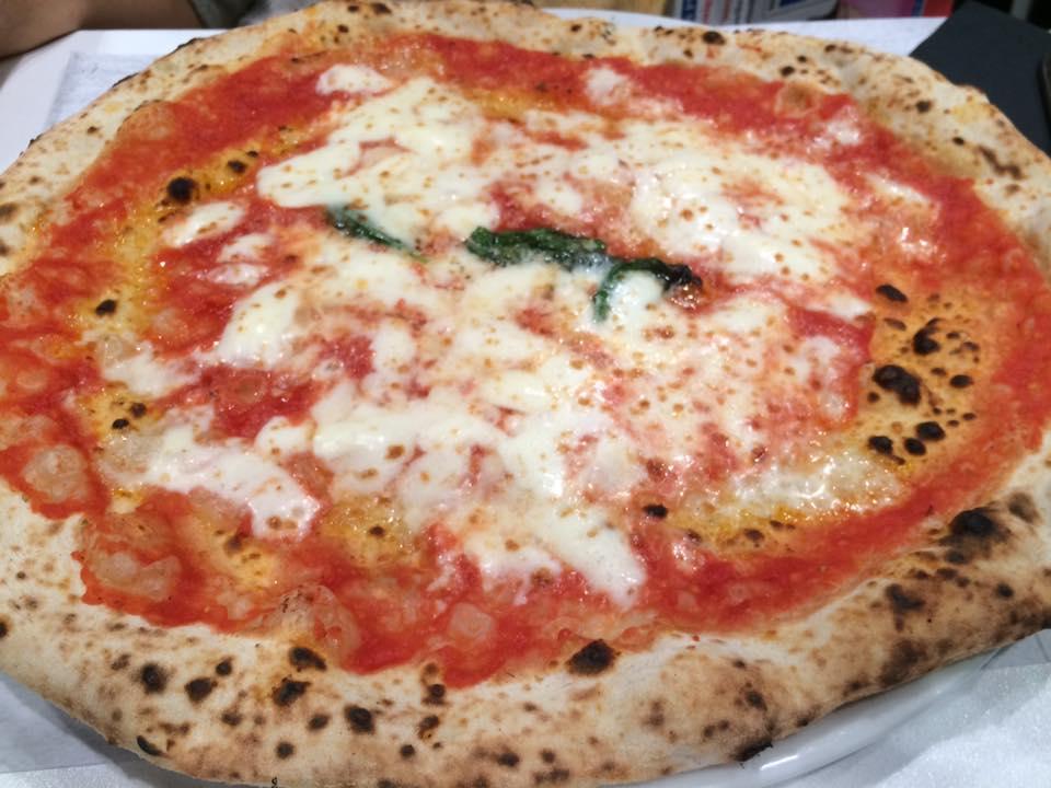 Da Michele a Roma, la margherita