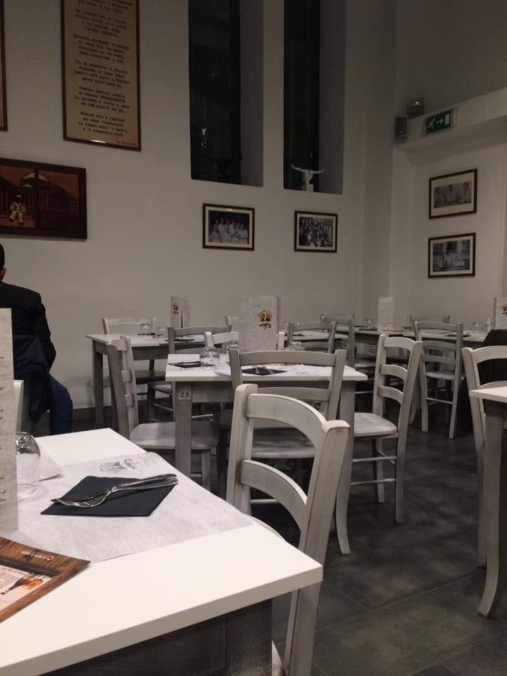 Da Michele a Roma, la sala