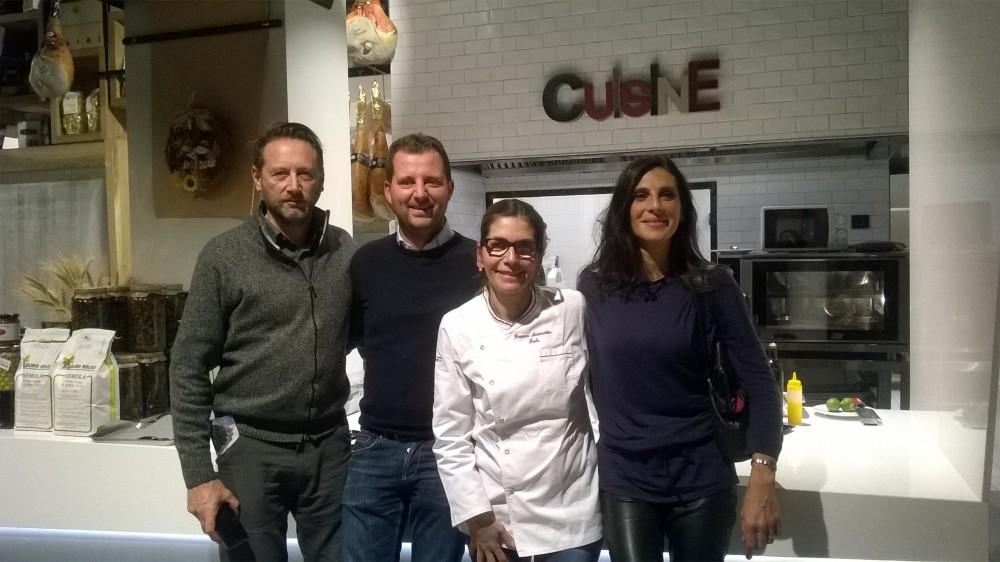 Da sx Mario Corrado, Paolo De Simone, Franca Feola e Ida Budetta