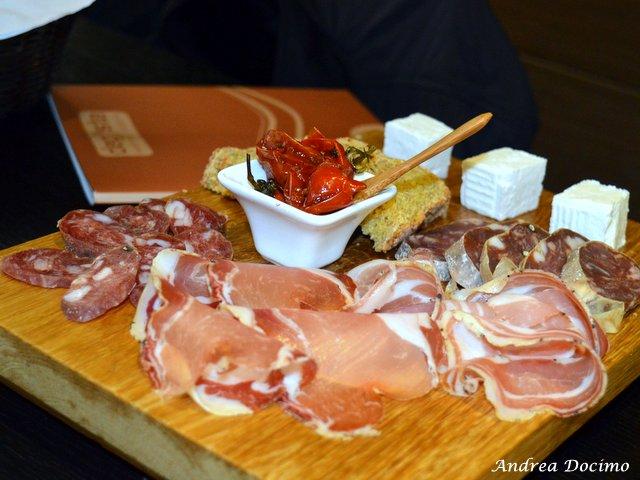Degusta ad Avellino. I taglieri