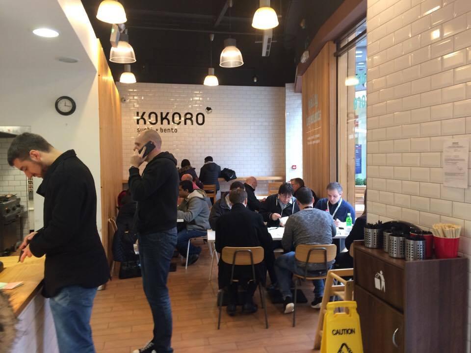 Kokoro fila all'ora di pranzo