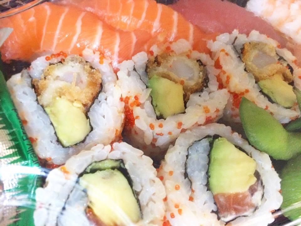 Shrimp katsu california roll & nigiri box set