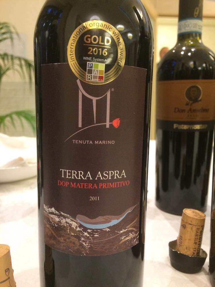 Fabio Mecca - Terra Aspra 2011 di tenuta Marino