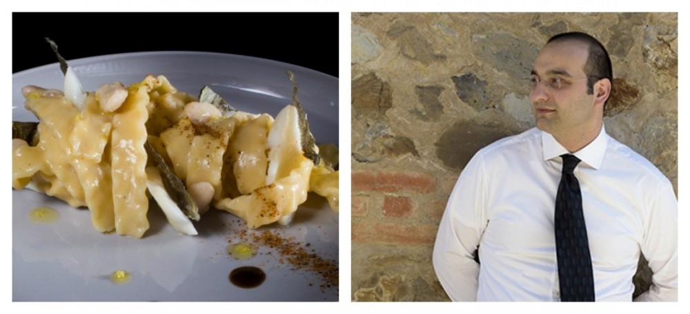 Fagiolo Schiaccione per il piatto di Lorenzo Barsotti