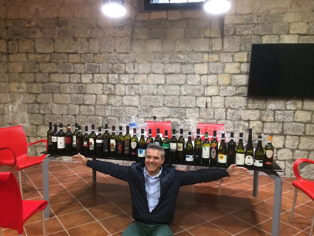 I vini del Sannio in degustazione con Andrea De Palma