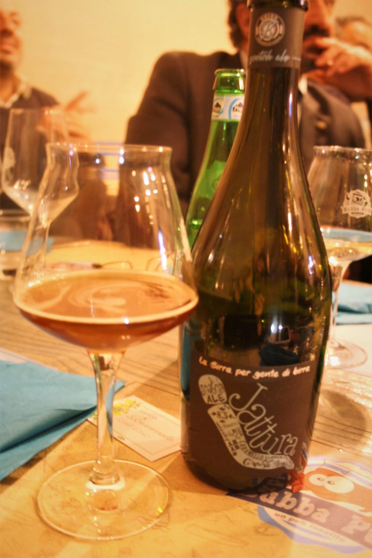 Jattura, birra affumicata prodotta da Kbirr di Fabio Ditto
