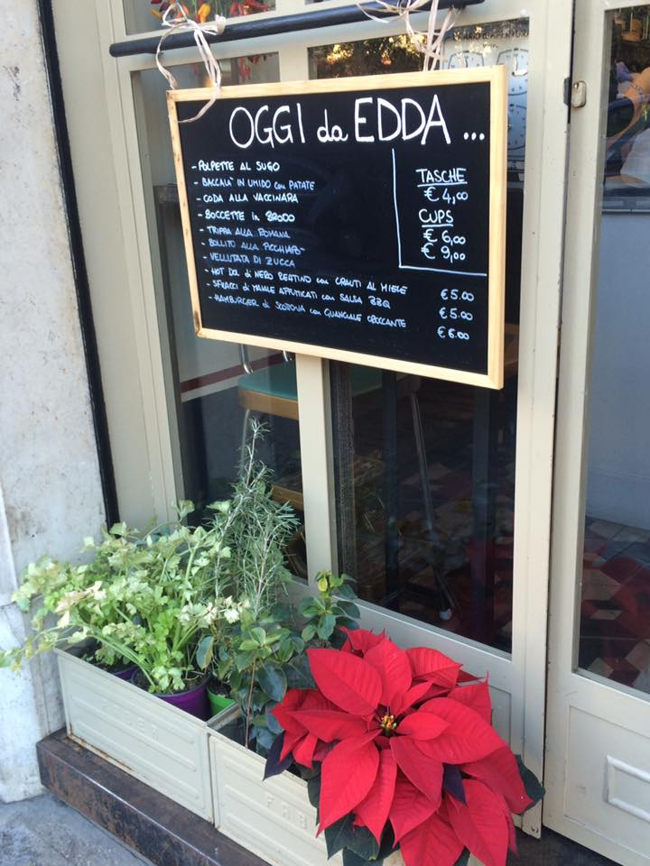L'ingresso di Edda