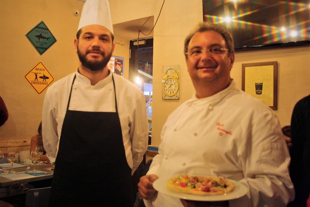 Lo chef Paolo Gramaglia, del ristorante President di Pompei – 1 stella Michelin