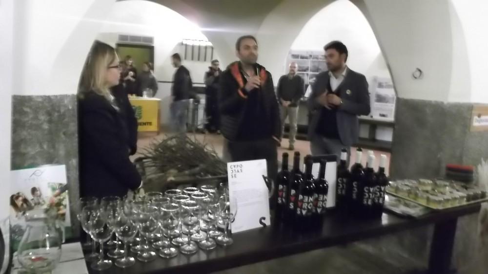 Manuela Russo, Pietro Parisi e Valerio Calabrese