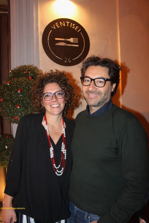 Mario Basco e Diana Iannaccone