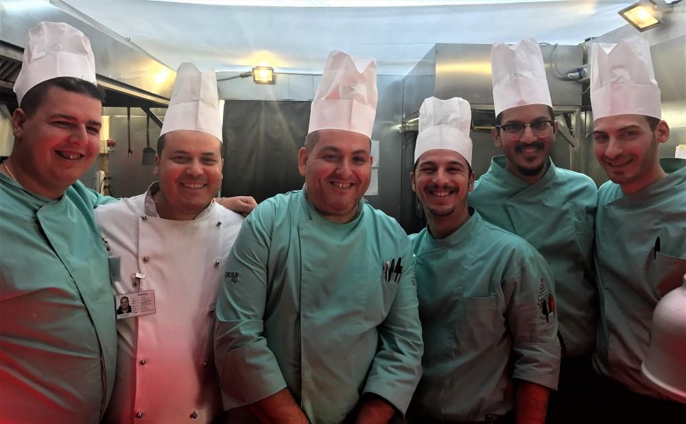 Nalbero, Ristorante-il team