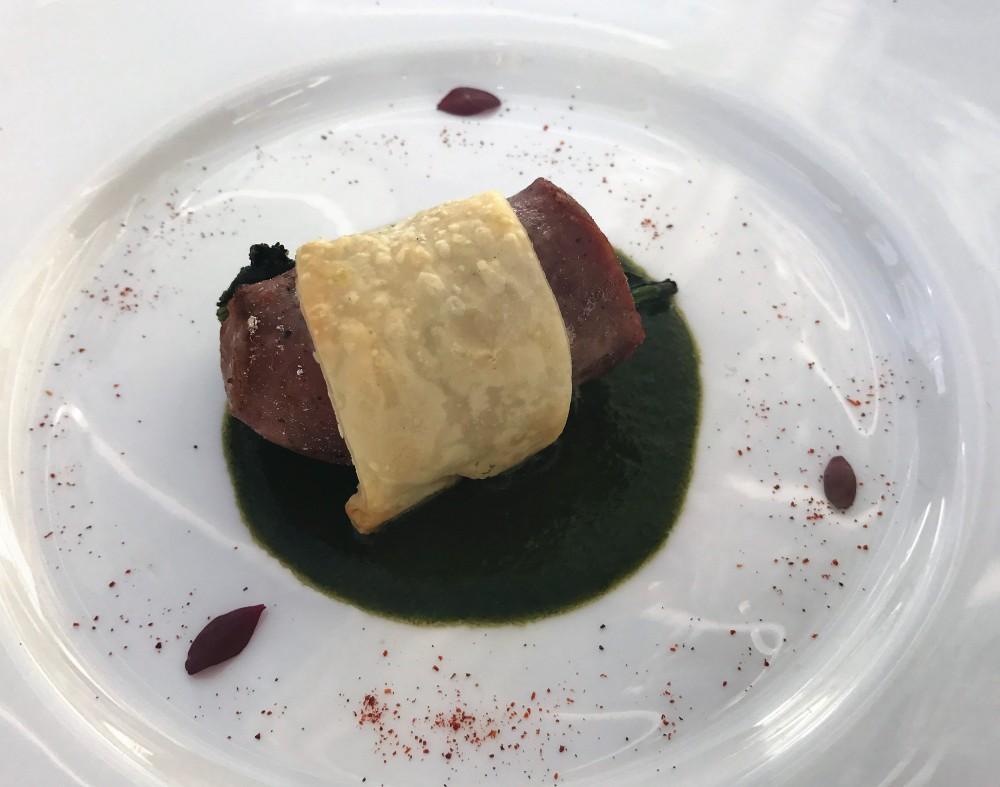 Nalbero, Ristorante - salsiccia di maialino nero