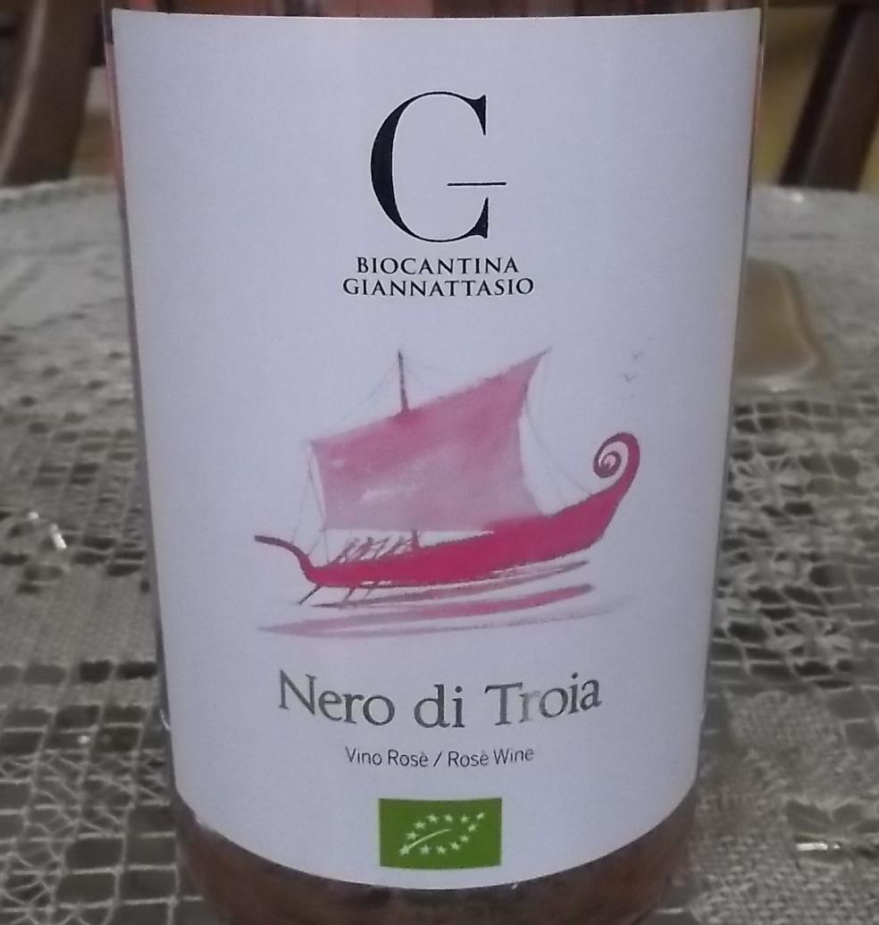 Nero di Troia Rose' Igp 2015 Biocantina Giannattasio