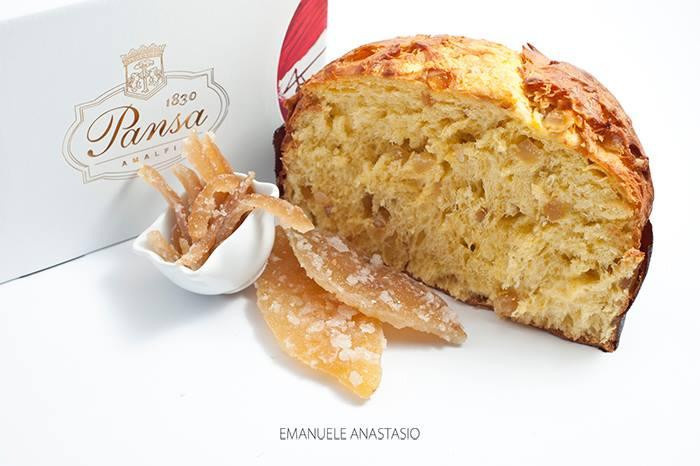 Pansa,  Il panettone al limone d'Amalfi