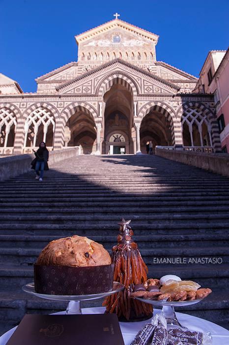 La Cattedrale di Amalfi , scenario per la collezione firmata Pansa- Capuano