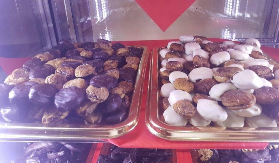 Pasticceria Palma, fichi al cioccolato