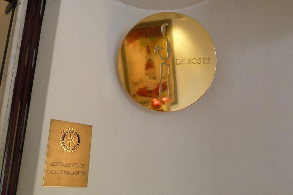 Pierino, associazione Le Soste e Rotary